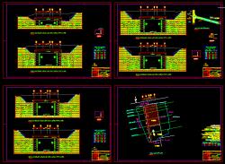 دانلود نقشه اتوکد نیلینگ یا میخ کوبی با تمام جزییات محاسباتی و اجرایی
